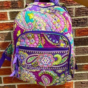 Large purple Heather backpack slightly used